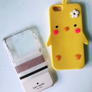 Kate Spade and Cute Chicken iPhone 7/8 Phone Case